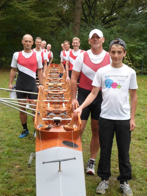 2014 Head of the river Leine 19 in Hannover