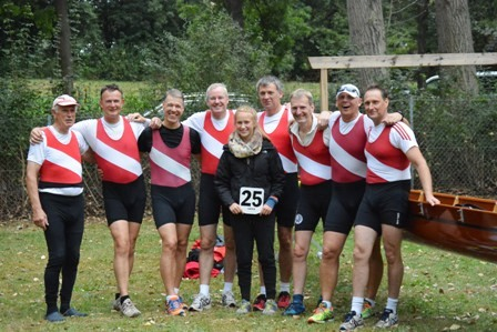 Die 'Harten Hunde' 2016 Head Of The River Leine 21 in Hannover