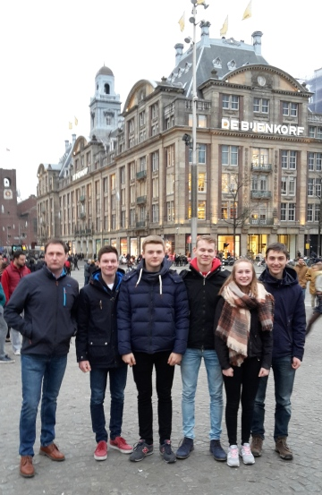 2017 Head of the river Amstel Bienjenkorb